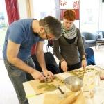 Seminar Wilde Ravioli, Brennnessel-Ravioli