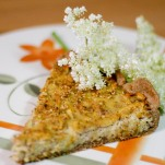 Holunderblüten-Kuchen
