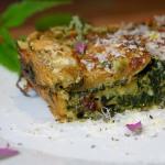 Gänsefuß-Brennnessel-Zucchini-Lasagne
