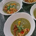 Distelwurzel-Topinambur-Suppe