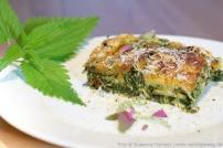 Wildpflanzen-Lasagne
